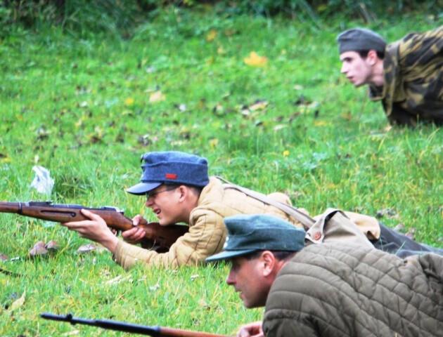 Агенти НКВС та повстанці: у Луцьку для дітей влаштовують гру «Криївка»