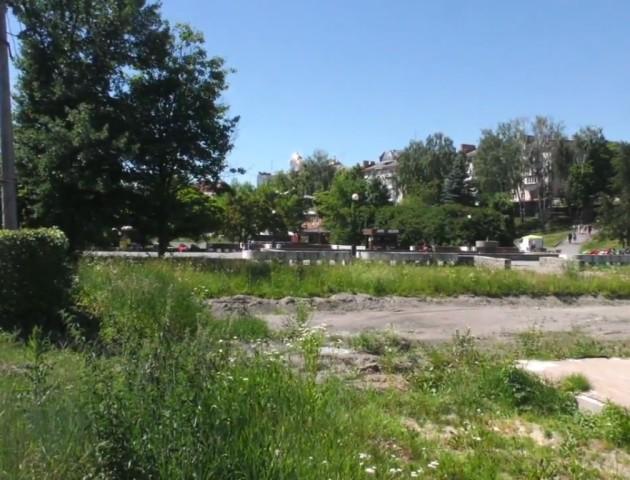 У луцькому парку облаштують відпочинково-розважальну зону. ВІДЕО