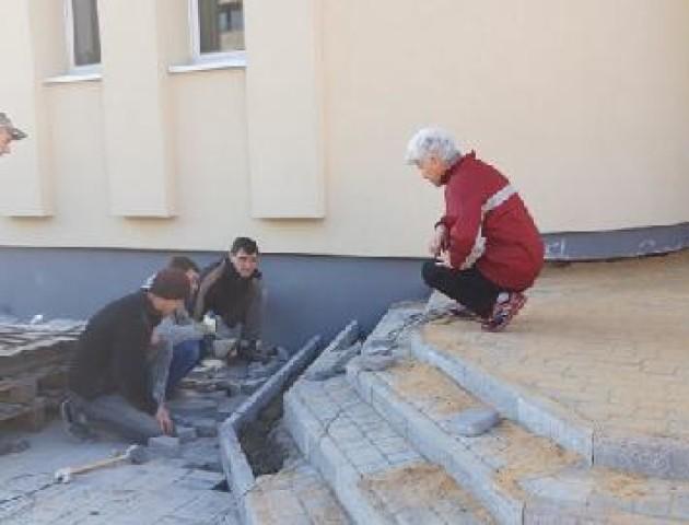 У Ковелі завершують ремонт спортивної школи. ФОТО