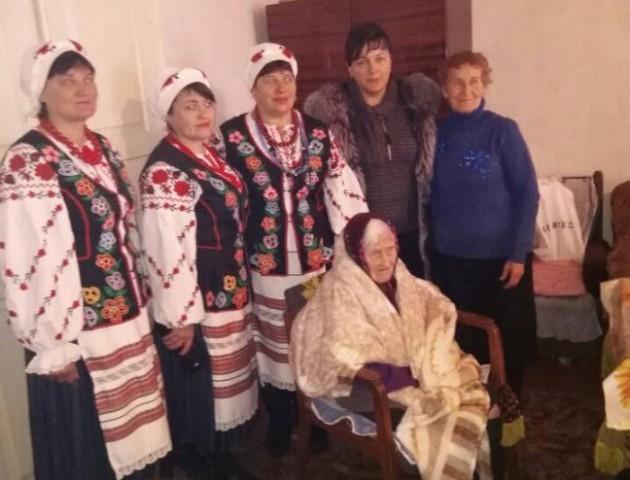 Волинянка відзначила 100-річний ювілей. ФОТО