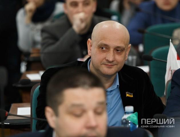 Євгеній Ткачук склав повноваження голови «земельної» комісії Луцькради