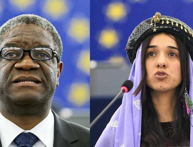 Правозахисниця та лікар отримали Нобелівську премію миру