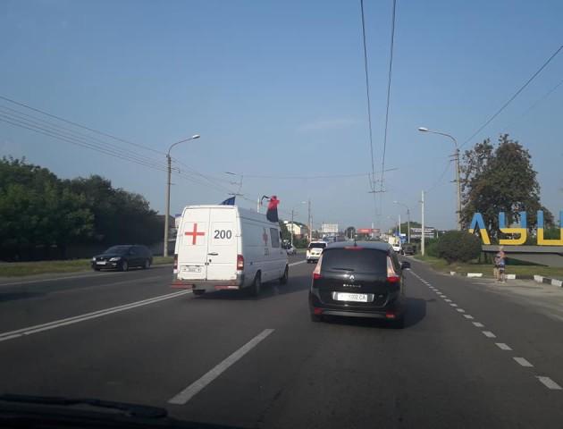 У Луцьку зустріли загиблого на Донбасі волинянина. ФОТО
