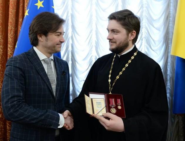 Відомого священика з Волині нагородили орденом. ФОТО