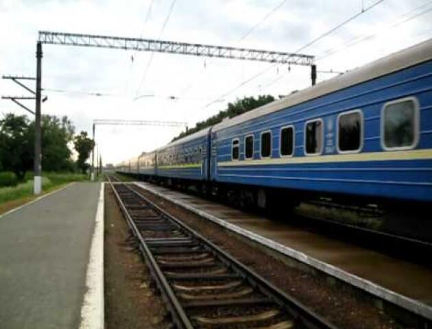 Волинський потяг курсуватиме за новим графіком