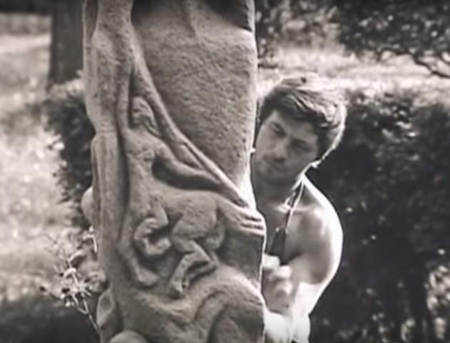 Як молодий Головань робив свої скульптури. АРХІВНЕ ВІДЕО