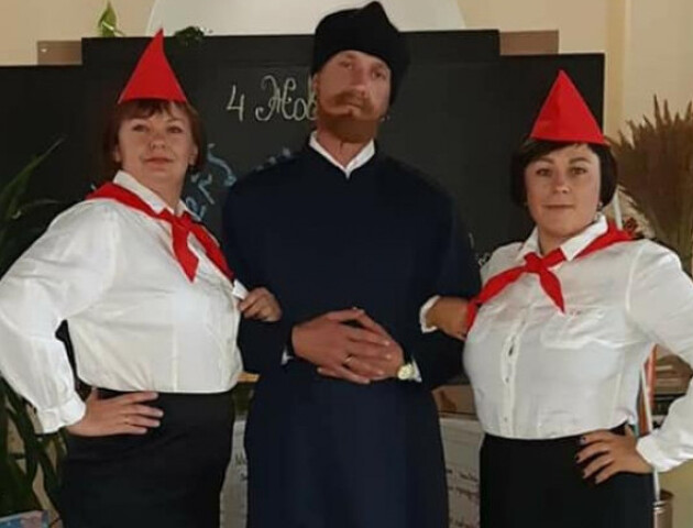 У Княгининку – суперечка через «піонерів» на святкуванні Дня вчителя