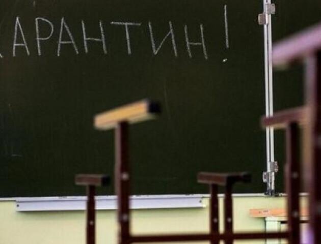 На Волині на карантин закрили понад 50 шкіл та 13 дитячих садочків