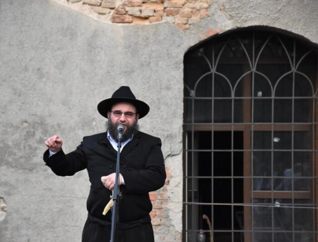 У Луцьку молились за розстріляних євреїв