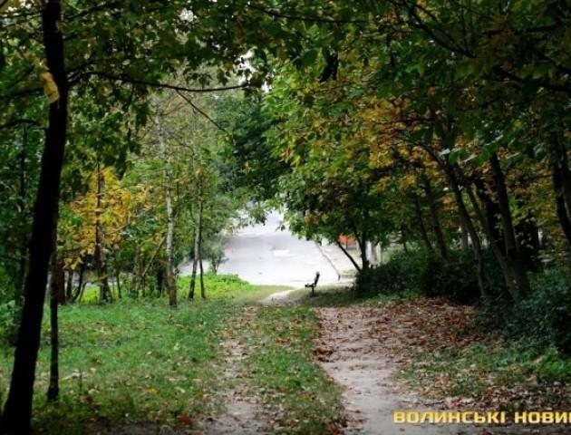 Осінь у парку 900-річчя Луцька. ФОТО