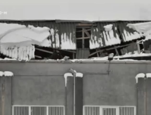 Чому обвалився дах будинку культури у селі під Луцьком. ВІДЕО