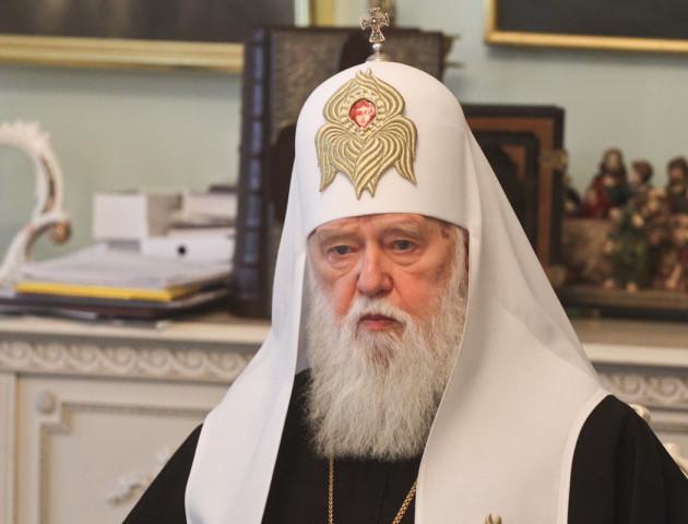 Патріарх Філарет розповів, для чого новій церкві треба об'єднатись з УПЦ МП