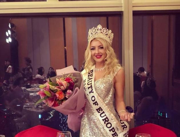 Волинянка здобула титул на всесвітньому конкурсі краси. ФОТО. ВІДЕО