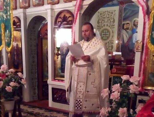 «Вийшло помилково», – волинський священник про своє вітання Путіну