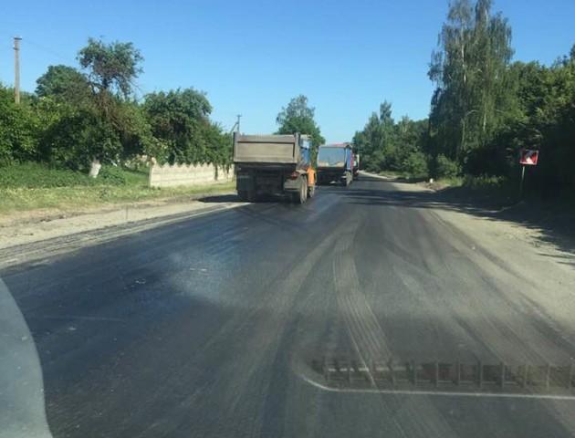 «Дочекалися!» - ремонтують трасу Луцьк-Дубно. ФОТО