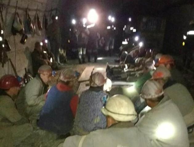 Волинські гірники припинили страйк. ВІДЕО