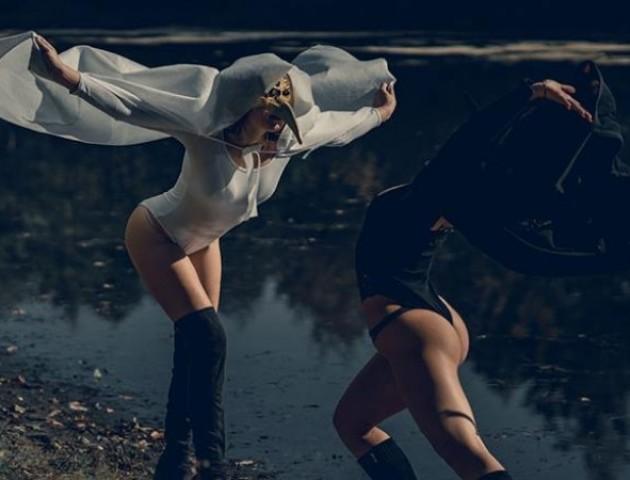 Містично-еротична фотосесія від луцького майстра ню. ФОТО