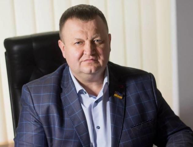 Депутат Луцькради Сергій Шкода вітає лучан з Днем Незалежності
