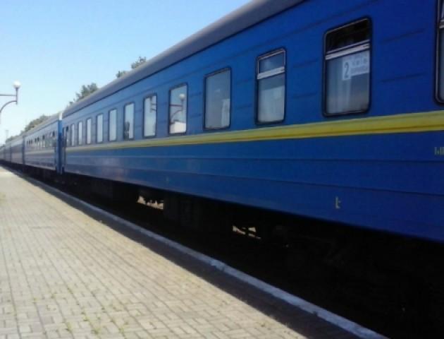Як курсуватиме додатковий потяг «Київ-Ковель» на новорічні свята