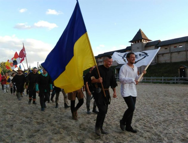 Луцькі лицарі взяли участь в міжнародному чемпіонаті «Зов героїв». ФОТО