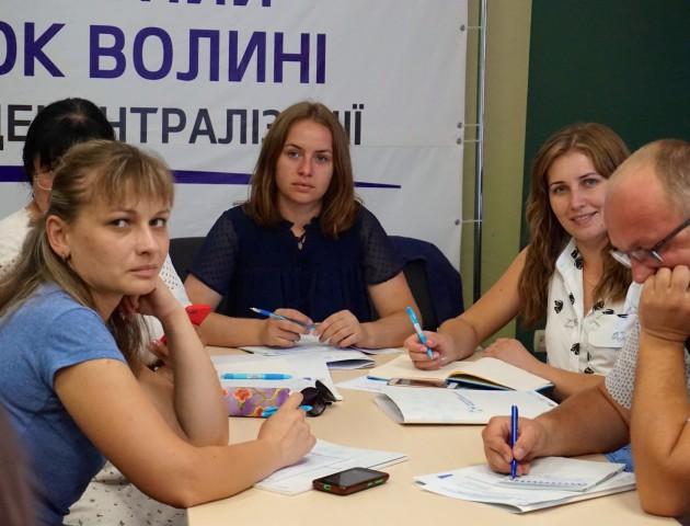 Представників волинських ОТГ навчають, як залучити інвестора в громаду