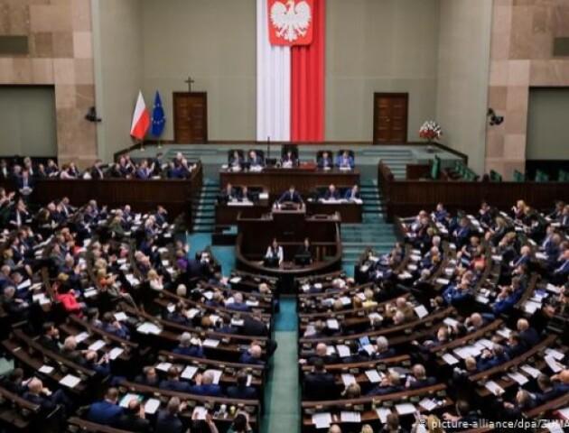 Через агресію Росії в Сенаті Польщі прийняли резолюцію на підтримку України