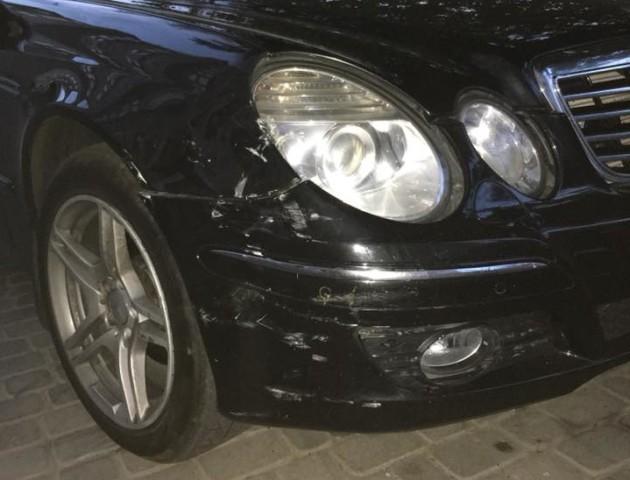 У Луцьку BMW пошкодило авто і втекло. ФОТО