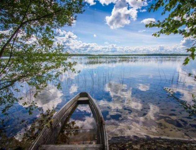 Відпочинок на озері Пісочне:  відео з квадрокоптера