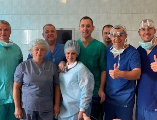 У обласній дитячій лікарні провели складну операцію 2-річному пацієнту