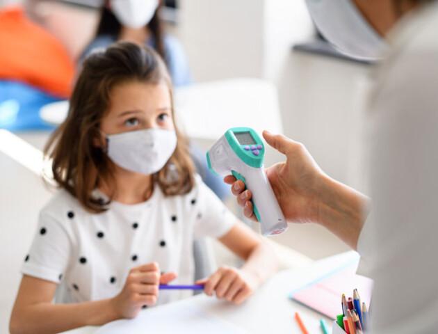 Луцьким учням при вході до школи мають міряти температуру, – головна освітянка