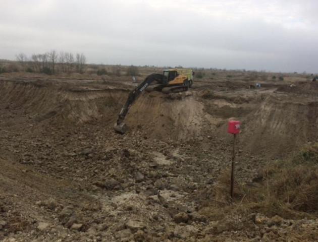 На Волині будують сміттєвий полігон за 12 мільйонів гривень. ФОТО