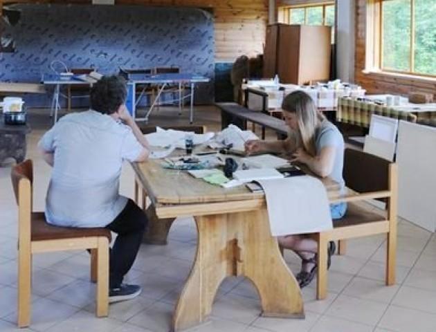 На Волині розпочався міжнародний пленер іконопису. ФОТО