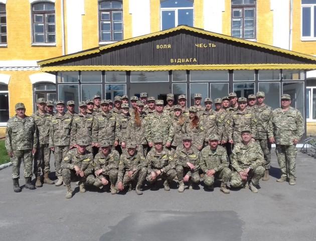Військова кафедра ЛНТУ запрошує на навчання майбутніх офіцерів запасу