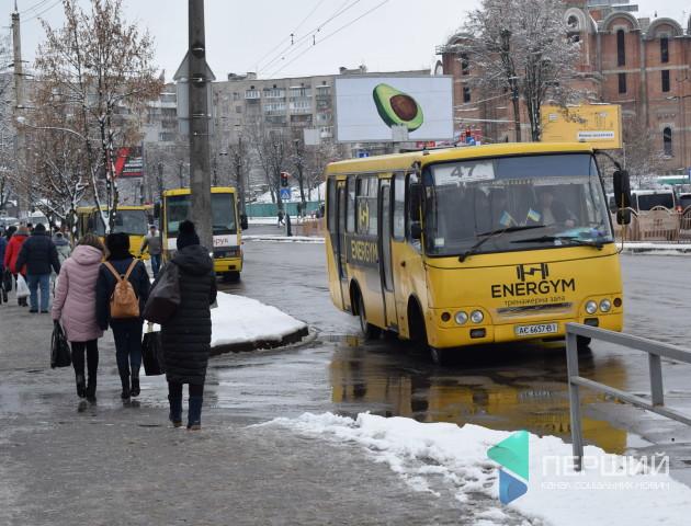«У Луцьку достатньо маршруток і тролейбусів», – головний транспортник міста