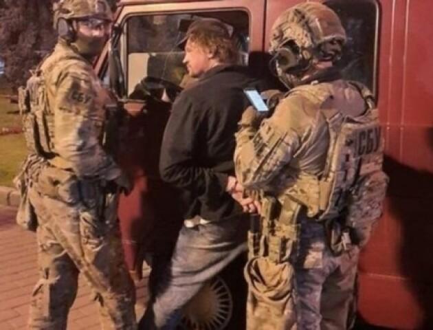 У луцького терориста Кривоша під час затримання вилучили ще й холодну зброю