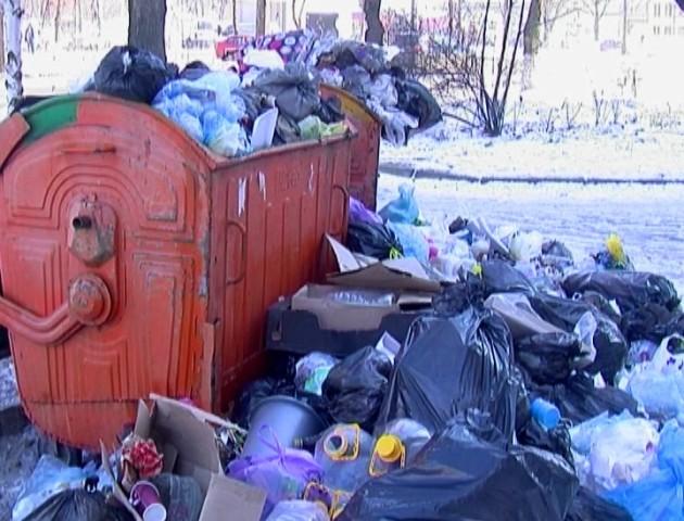 Комунальники сперечаються з лучанами, хто винен у тому, що місто потопає у смітті