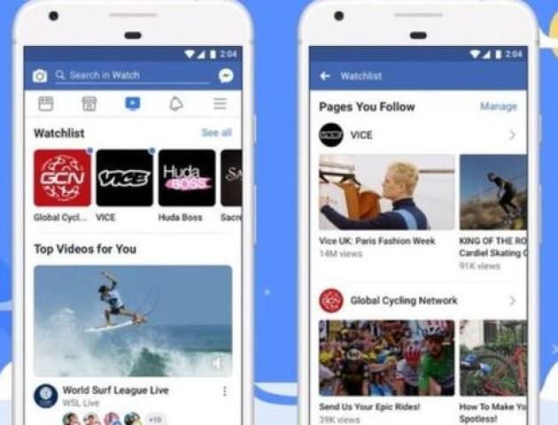 Facebook запустив власний відеосервіс