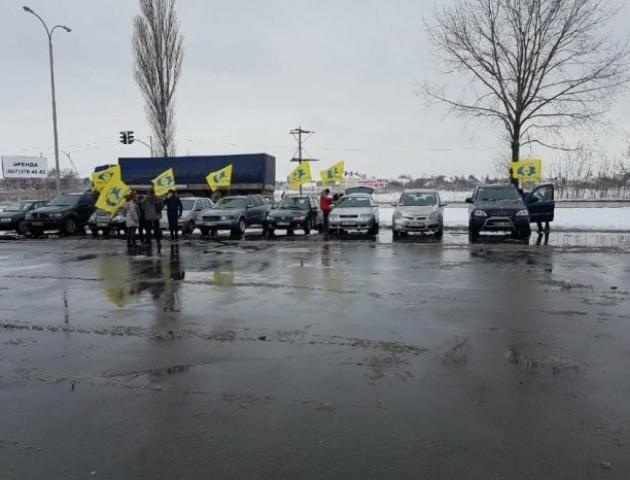 У Луцьку проходить пробіг автомобілів на єврономерах