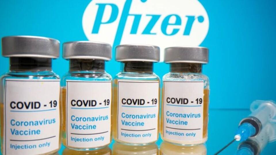 Україна очікує на вакцину проти коронавірусу Pfizer в найближчі тижні