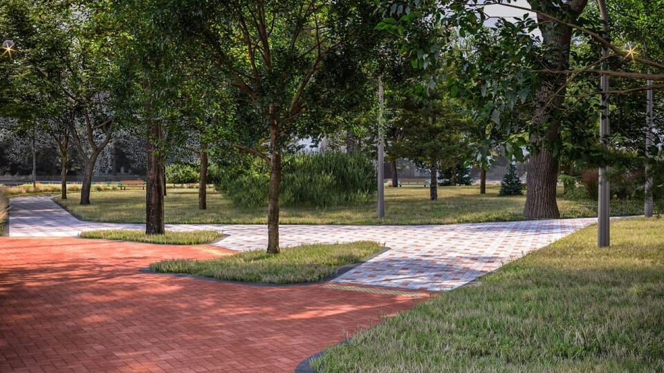 У Луцьку на перехресті Молоді і Відродження зроблять сквер. Показали проєкт