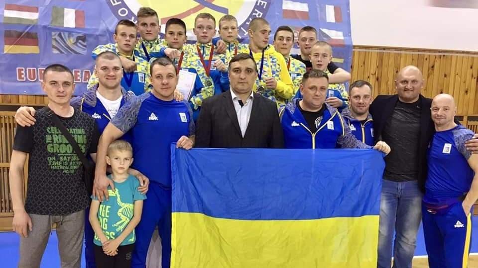 Волинські «воїни» стали чемпіонами Європи з бойового самбо та призерами з MMA: як це було. ФОТО
