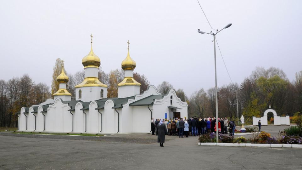 Лучанин розмалював церкву ПЦУ сатанинськими знаками. Замовлення дали з Росії