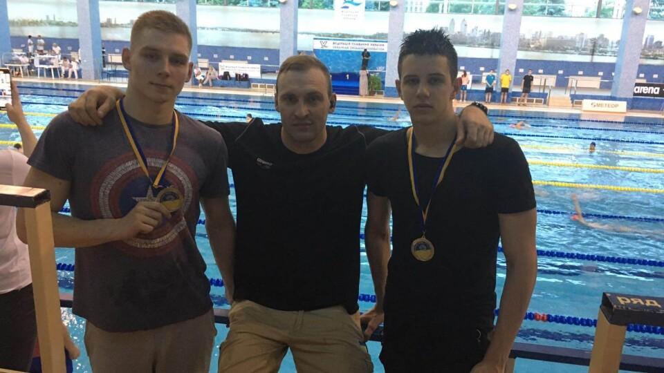 Волинські плавці здобули дві медалі на чемпіонаті України