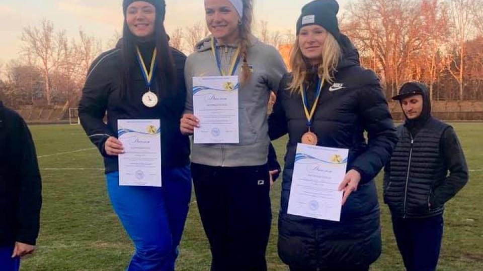 Волинська спортсменка здобула «золото» на Чемпіонаті України. ФОТО