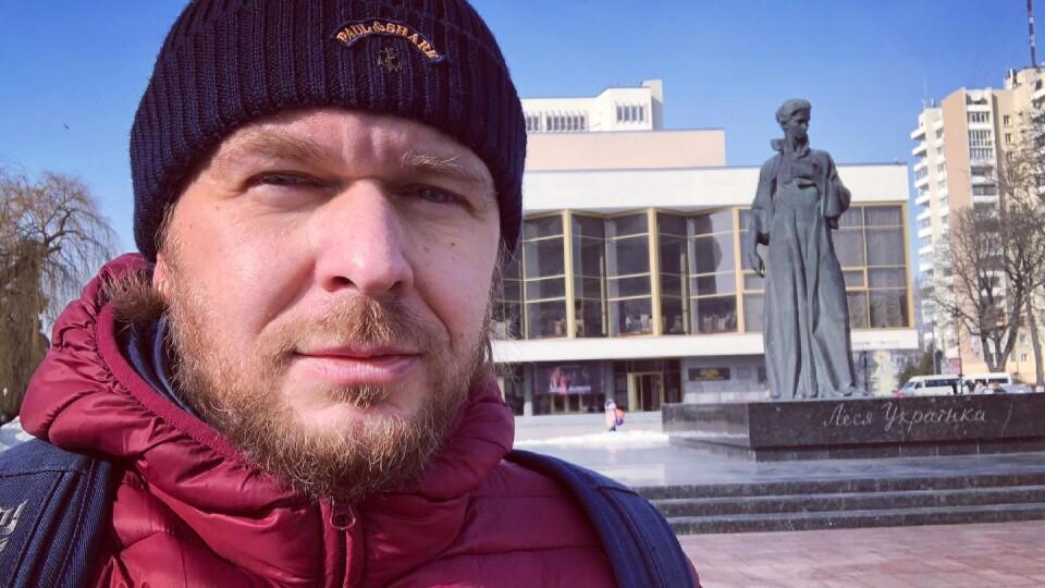 «Мені було п'ять». Положинський згадав, як відкривали пам'ятник Лесі Українці у Луцьку