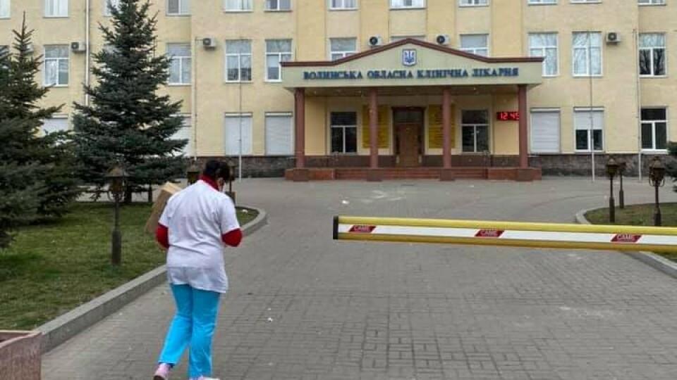 Для двох лікарень Волині бізнесмен купив 2 тисячі масок