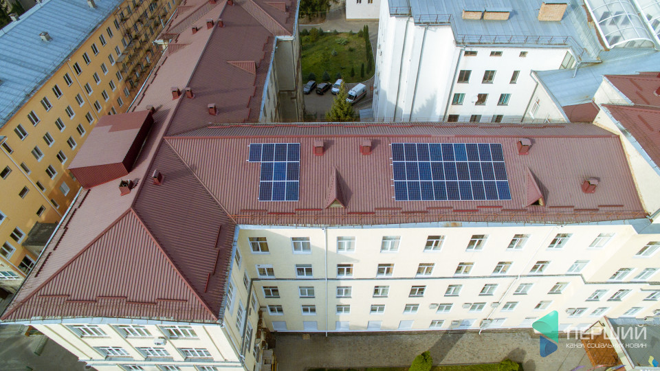 «Будемо економити 300 тисяч гривень щороку» - Іван Сидор про «сонячну лікарню». ФОТО