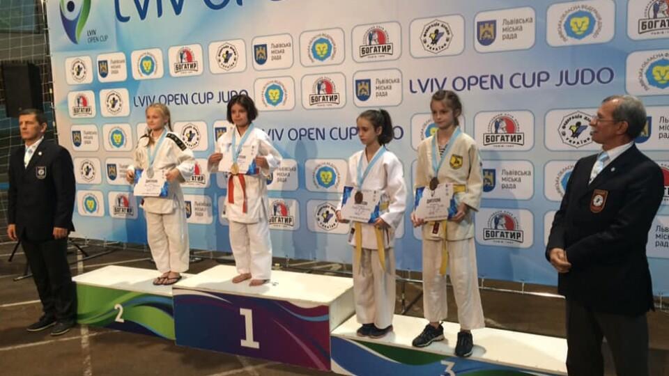 10-річна волинянка стала чемпіонкою міжнародних змагань із дзюдо