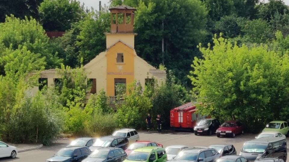 У Луцьку – пожежа на старій рятувальній станції