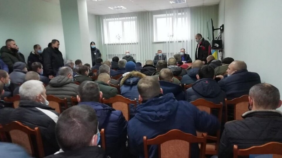 У Нововолинську шахтарі страйкують вже п'ятий день поспіль